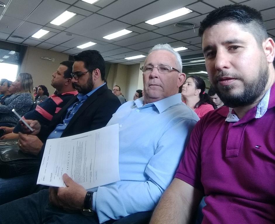 Vereador Bento do Bem participa de evento sobre educação fiscal