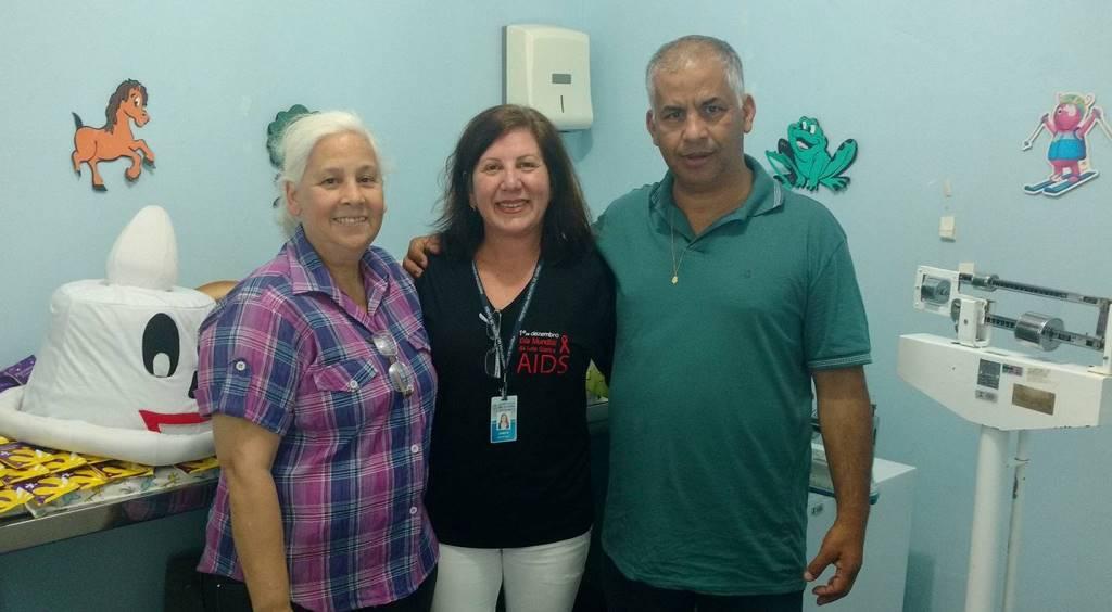Vereador Manoel Eletricista participa do Dia da Saúde