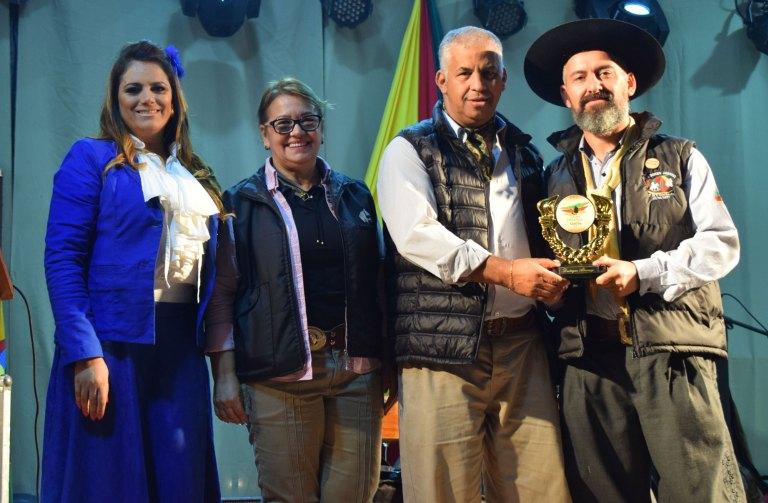 Vereador Manoel Eletricista participa do Rodeio de Guaíba