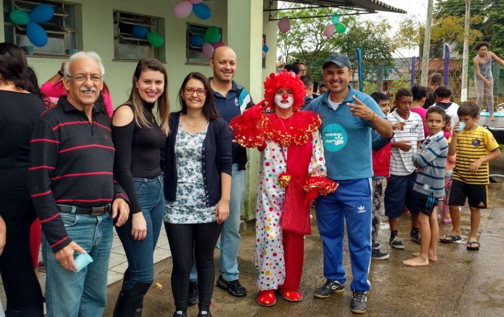 Vereador Ale Alves participa da Festa de Dia das Crianças do Posto de Saúde da Colina