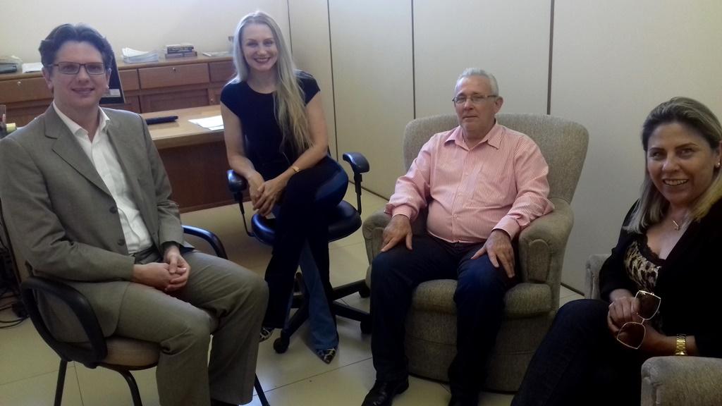 Vereador Bento do Bem reúne-se com coordenadores do projeto Balcão do Consumidor