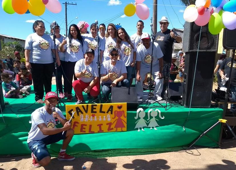 Vereador Everton da Academia participa do Projeto Favela Feliz