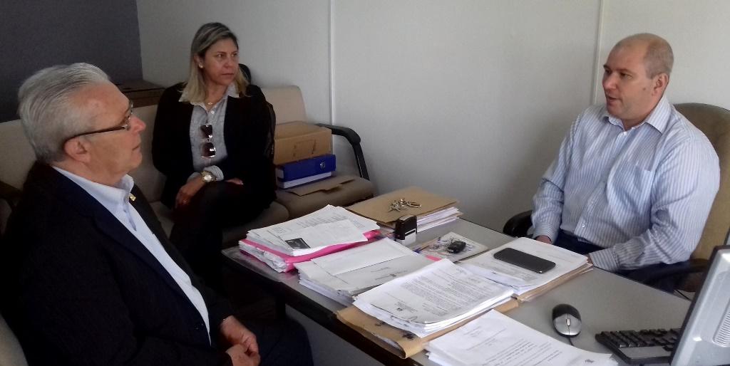 Vereador Bento do Bem reúne-se com Secretário de Saúde