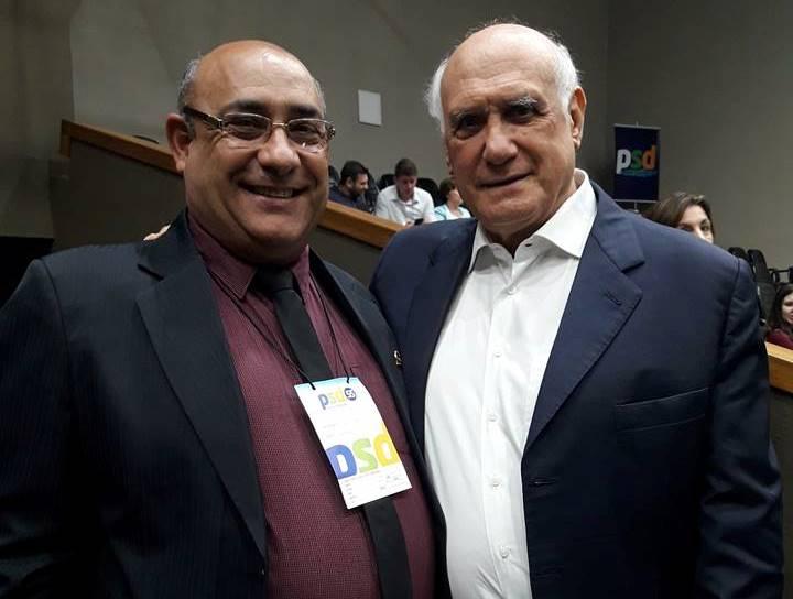 Vereador Florindo Motorista participa de Encontro Estadual do PSD
