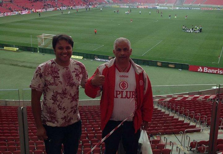 Vereadores Manoel Eletricista e Juliano Ferreira prestigiam a semifinal do Campeonato Gaúcho de Futebol Feminino, no Beira Rio
