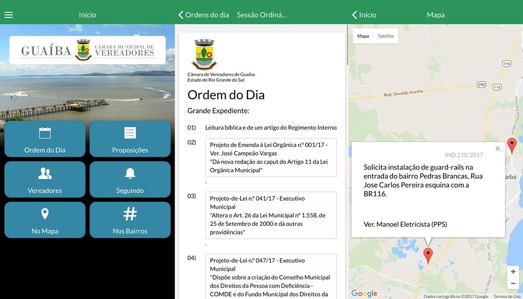 Câmara de Vereadores lança aplicativo de celular gratuito, para que a população possa acompanhar o trabalho dos Vereadores