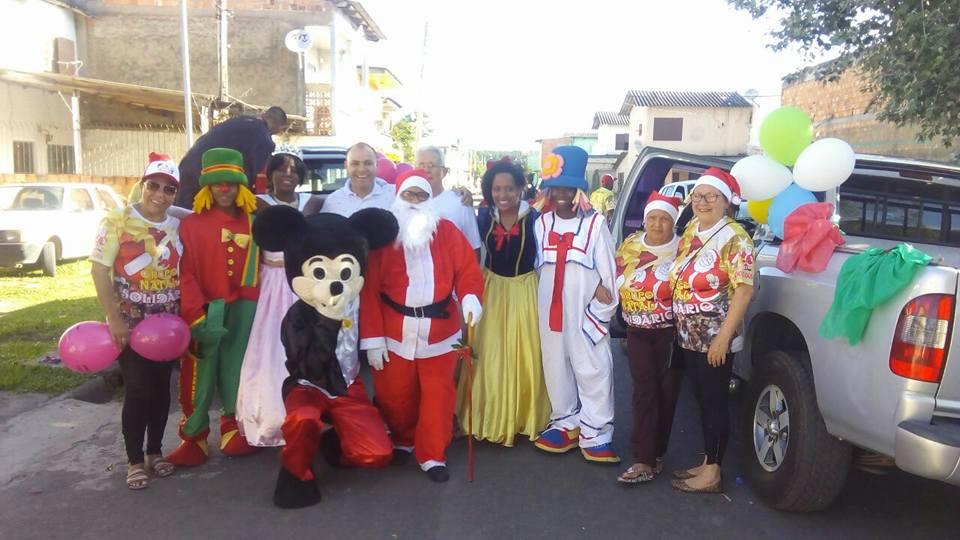 Vereador Alex Medeiros participa de atividades do Natal Solidário