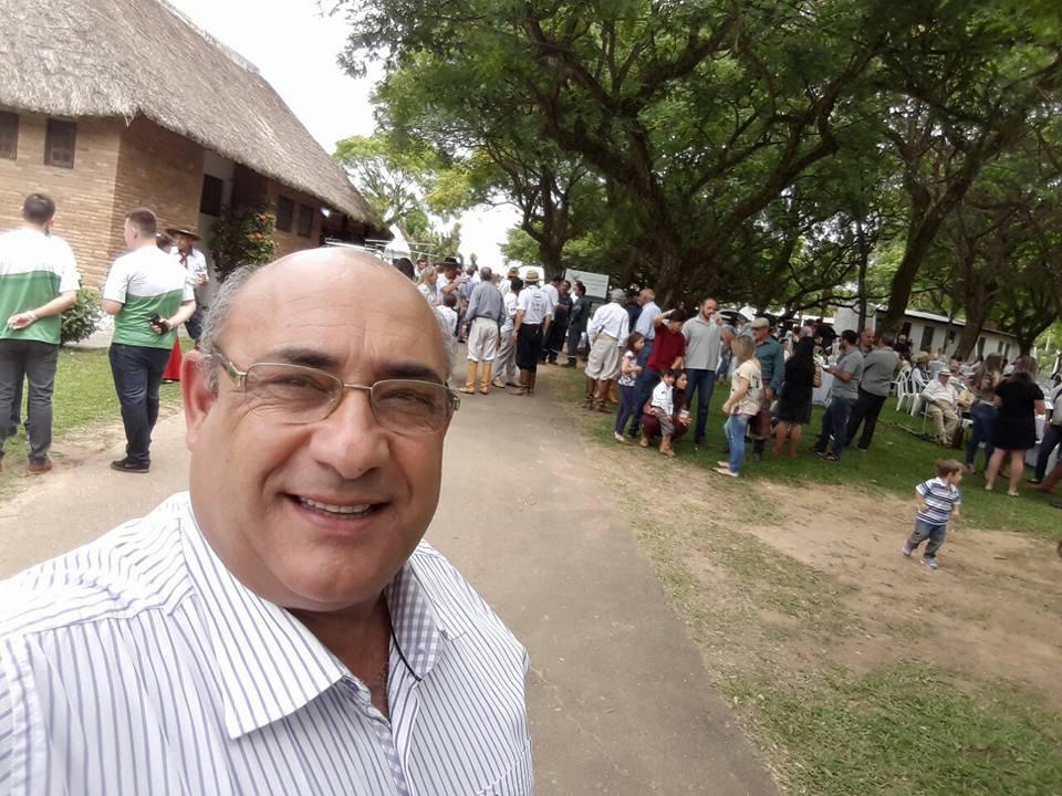 Vereador Florindo Motorista participa de celebrações no Sindicato Rural de Guaíba