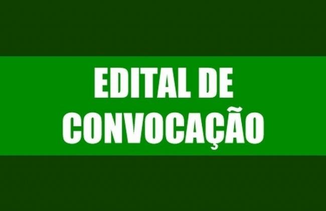 Edital de convocação para Sessão Extraordinária