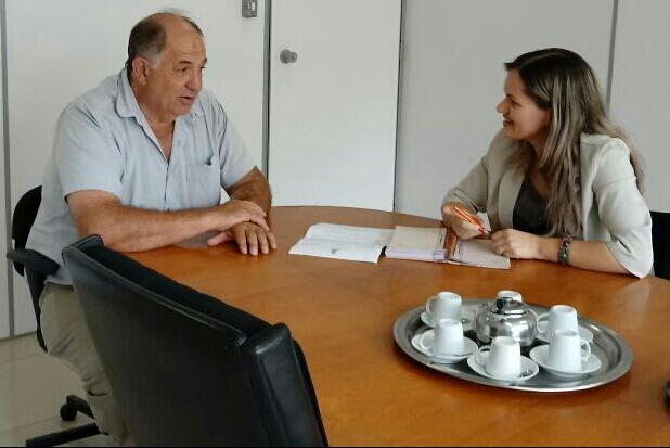 Vereadora Fernanda Garcia reúne-se com secretário Selito Carboni