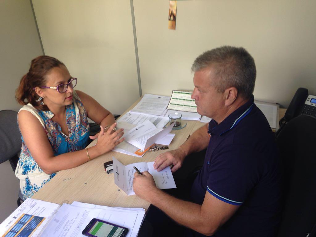 Professora Claudinha Jardim tem reunião com secretário de Mobilidade Urbana e Segurança