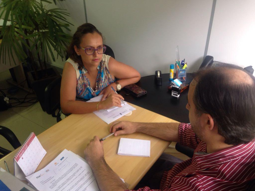 Vereadora Claudinha Jardim tem reunião com secretário de Comunicação e Ação Comunitária