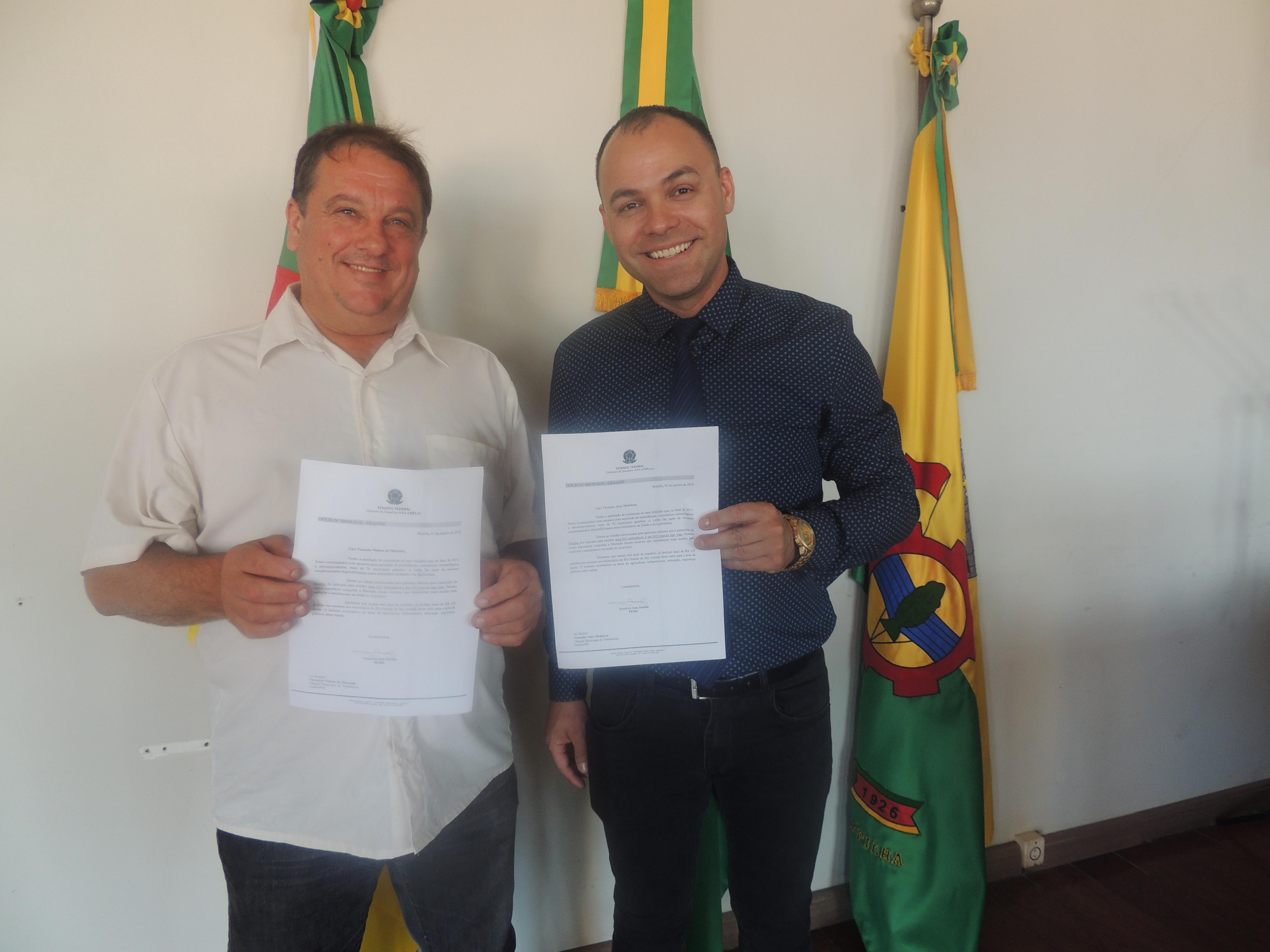 Guaíba receberá nova ambulância e van para melhor atendimento na área da saúde