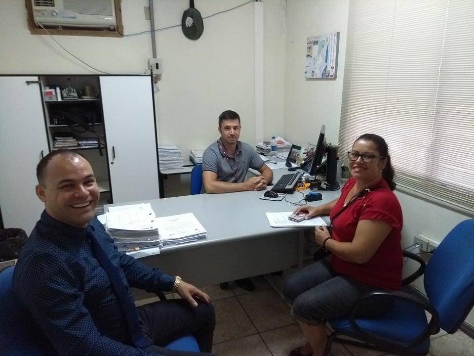 Vereador Alex Medeiros reúne-se com chefe da CEEE Guaíba