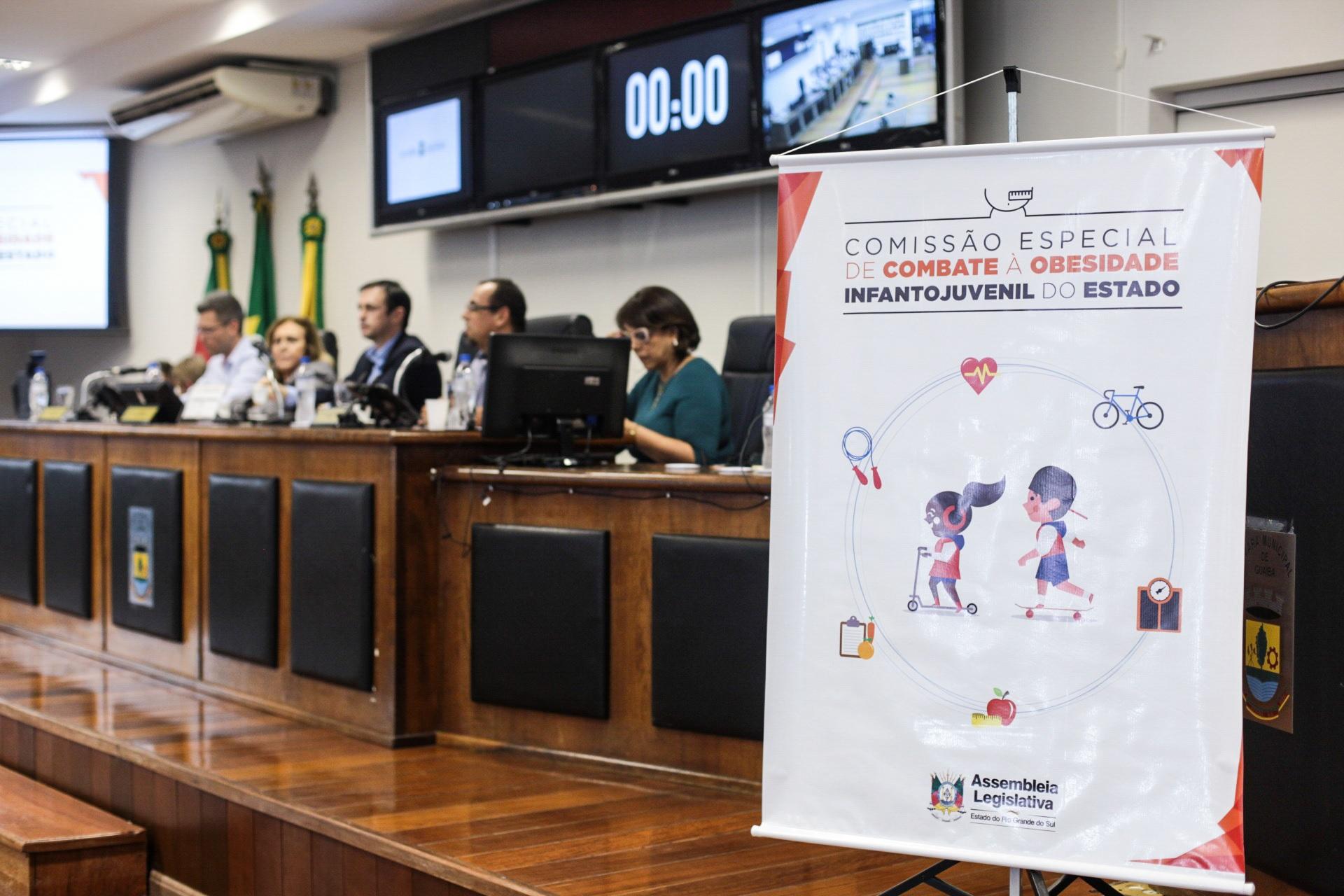 Comissão Especial de Combate à Obesidade Infantil da Assembleia Legislativa faz audiência em Guaíba