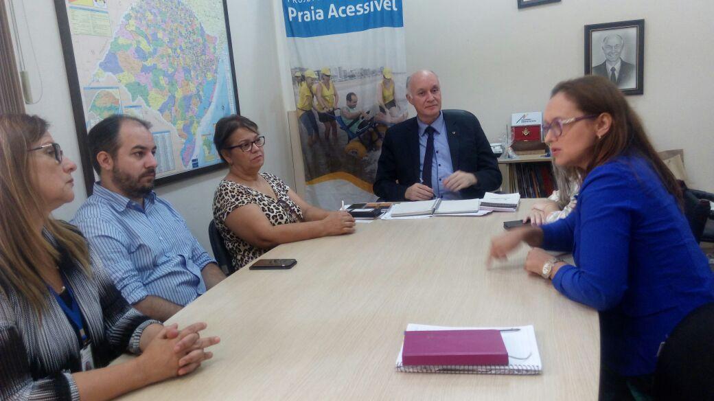 Lideranças de Guaíba reúnem-se na Faders – Acessibilidade e Inclusão