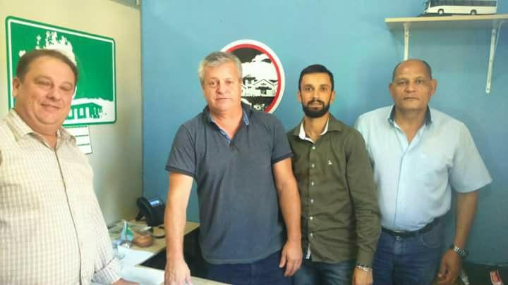 Vereador Nelson do Mercado reúne-se com secretário Leonardo Gardel