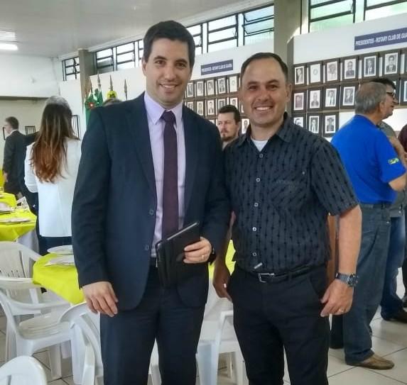 Vereador Ale Alves prestigia apresentação do relatório do Observatório Social de Guaíba