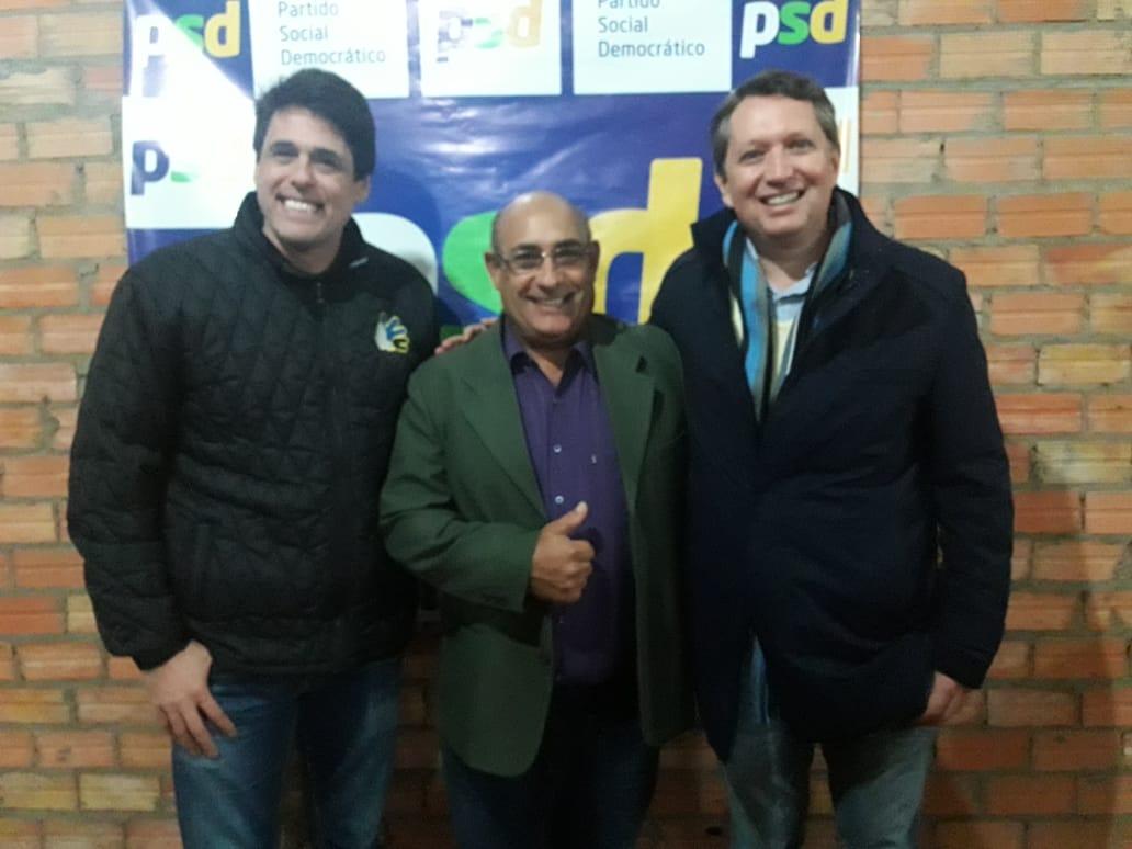 Vereador Florindo Motorista recebe visita do deputado Danrlei