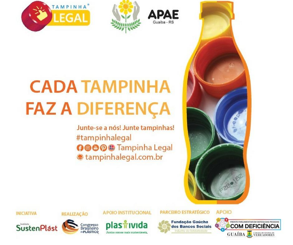 Vereadora Fernanda Garcia comemora o sucesso do programa Tampinha Legal