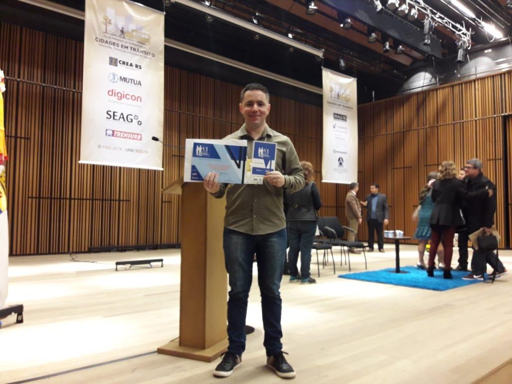 TCC sobre acessibilidade do estacionamento do Terminal Hidroviário de Guaíba vence prêmio no IV Seminário Internacional Cidades em Trânsito