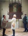 Vereadora Nadir visita Cemitério Católico com secretário Pedro Vasconcellos