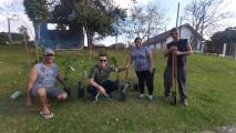 Plantio de árvores no São Cristóvão