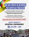 Municípios se mobilizam para abraço coletivo aos hospitais