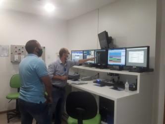 Em primeira ação como vereador, Marcelo Dentinho visita Oncologia Centenário