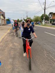 Vereadora Iara Cardoso do PDT quer instituir o Dia Municipal do Ciclista