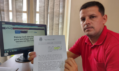 Vereador Falcão propõe em lei divulgação de nome de vacinados contra a COVID-19