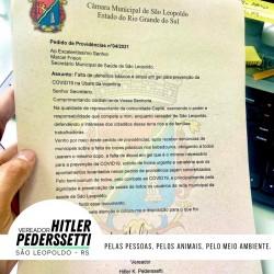 Vereador Hitler Pederssetti faz pedido de providências para a UBS Vicentina
