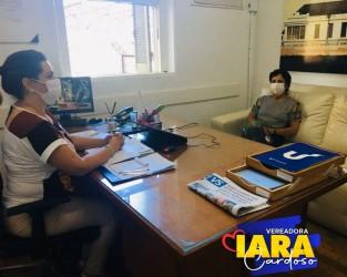 Vereadora Iara Cardoso visita Hospital Centenário