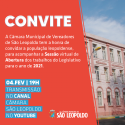 Sessão de Abertura do Ano Legislativo
