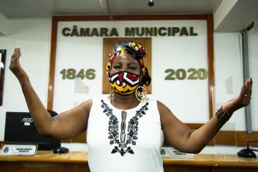 Vereadora Nadir enfatiza as pautas do mandato na abertura do Ano Legislativo