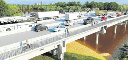Falcão mobiliza deputados federais para destinação de emendas para obras de ampliação da ponte do Rio do Sinos