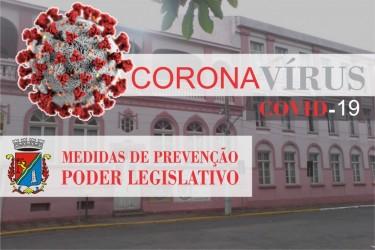 Câmara adota medidas restritivas para o enfrentamento à Covid-19