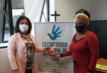 Vereadora Nadir visita a Secretaria de Direitos Humanos
