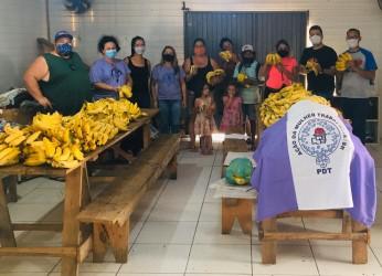 Em ação conjunta Ocupação do Justo recebe 200 quilos de fruta