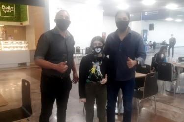 Na busca de apoio para São Leopoldo, vereador Dentinho se encontra com deputado federal Marcelo Moraes