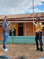 Escola infantil em condição precária, na Brás, é vistoriada por vereador Falcão