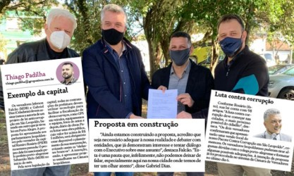 Pacote contra corrupção em São Leopoldo