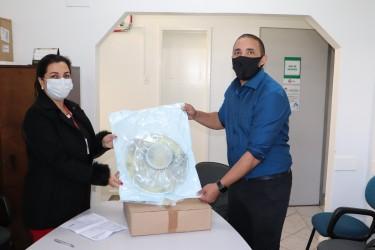 Após doação do vereador Marcelo Dentinho, Hospital Centenário passa a contar com sete bolhas respiratórias