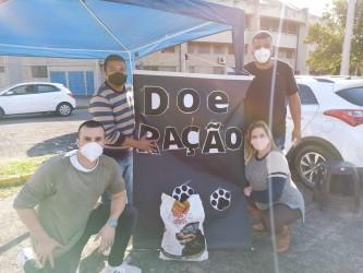 Vereador Brasil promove ação para arrecadar ração no Ginásio Municipal