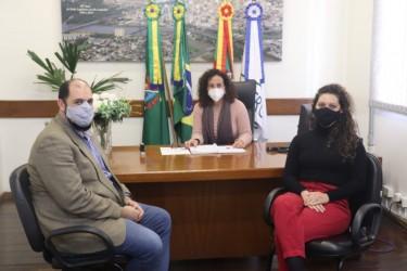 Presidenta Ana Affonso recebe secretário Pedro Vasconcellos para tratar da Cultura