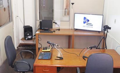 Live inaugura estúdio da TV Câmara nesta quarta (9)