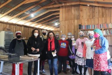 Presidenta Ana Affonso visita Grupo de Mulheres da Comunidade Steigleder