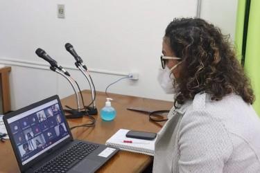 Vereadora Ana Affonso participa de reunião com o MP em defesa do veto ao projeto de Educação Domiciliar