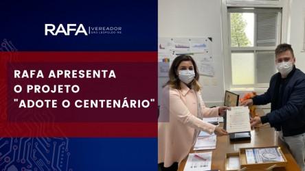 Rafa Souza protocola a criação do programa