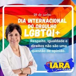 Iara Cardoso encaminha projeto de Lei que garante cotas para pessoas Trans e Travestis no serviço público do município